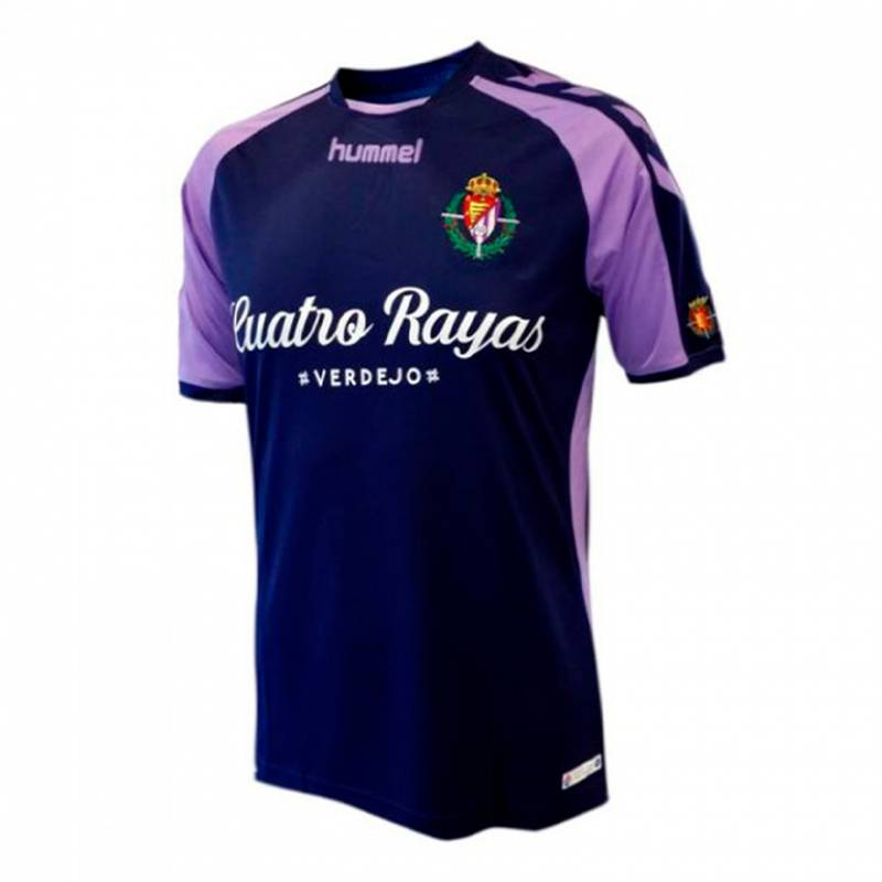 Camiseta Real Valladolid exterior 2018/2019