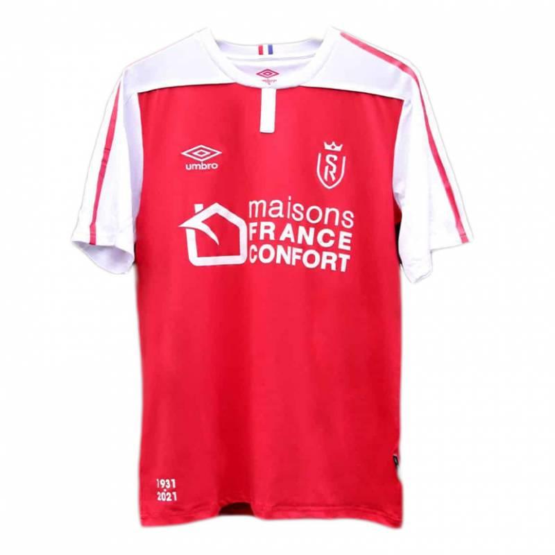 Camiseta Reims casa 2020/2021