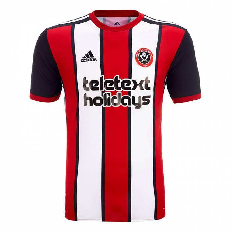 Camiseta Sheffield United casa 2017/2018
