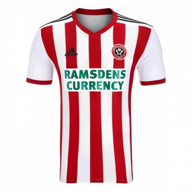 Camiseta Sheffield United casa 2018/2019