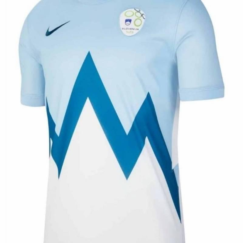 Camiseta Eslovenia exterior 2020