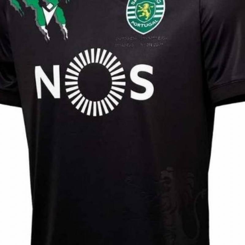 Camiseta Sporting Lisboa exterior 2020/2021