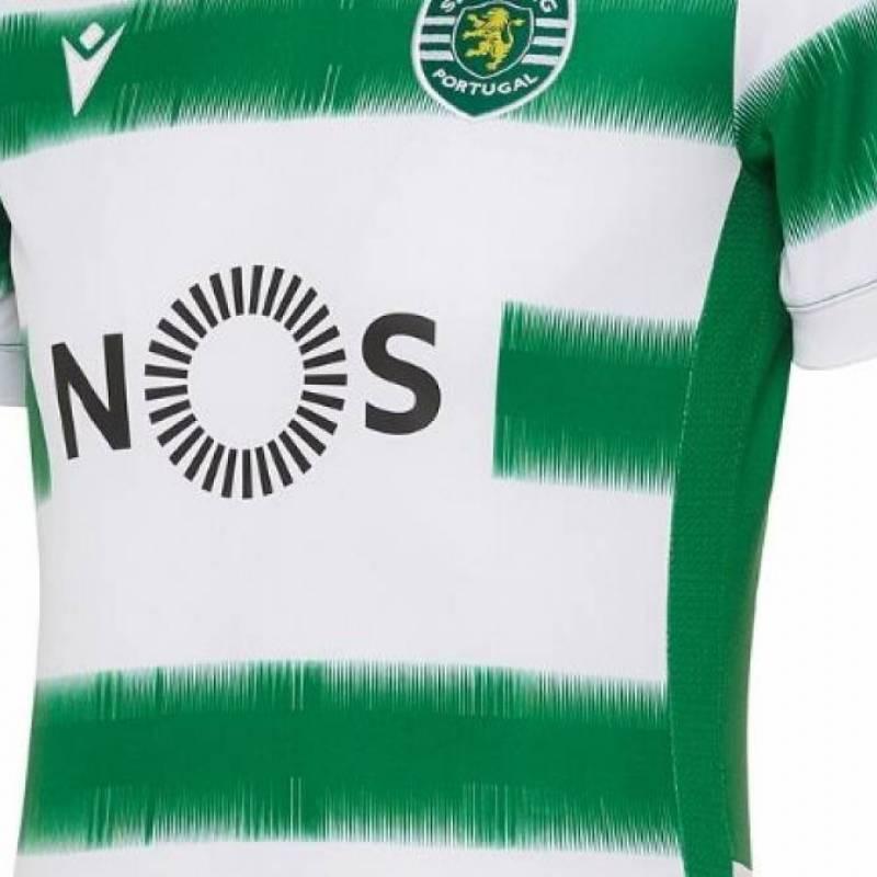 Camiseta Sporting Lisboa casa 2020/2021