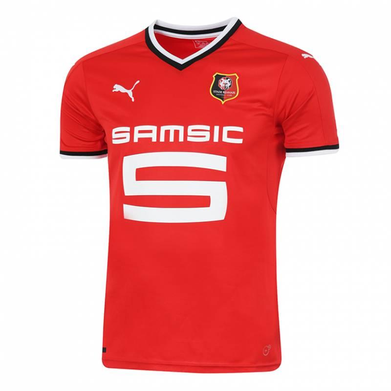 Camiseta Stade Rennais FC casa 2017/2018