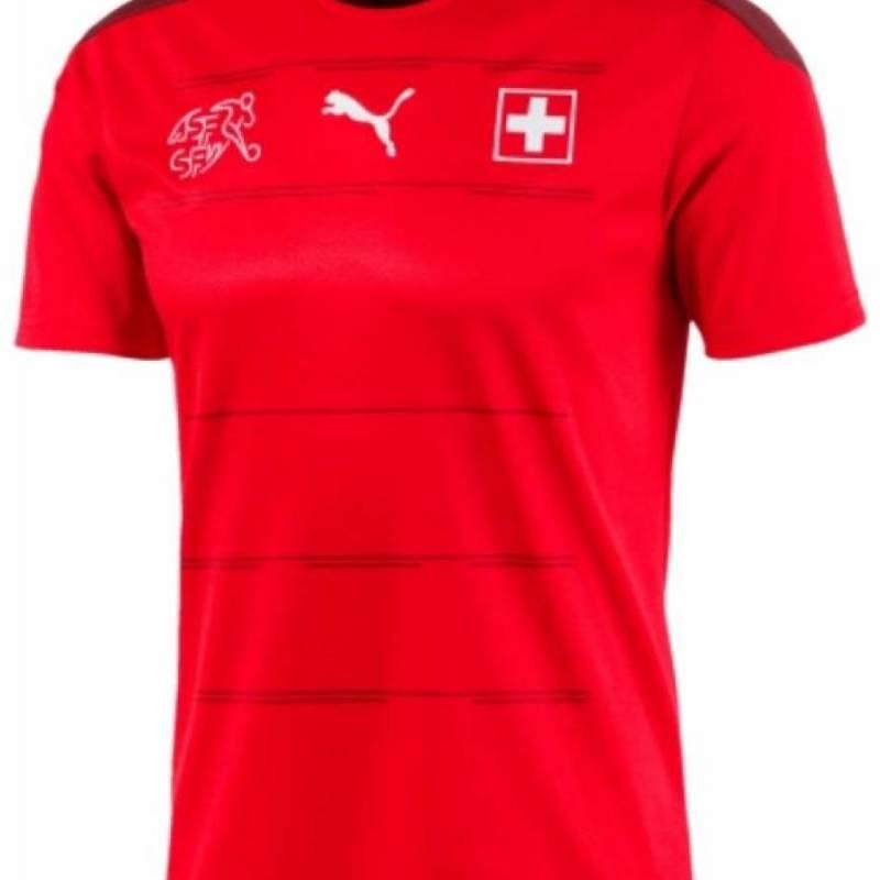 Camiseta Suiza casa 2020