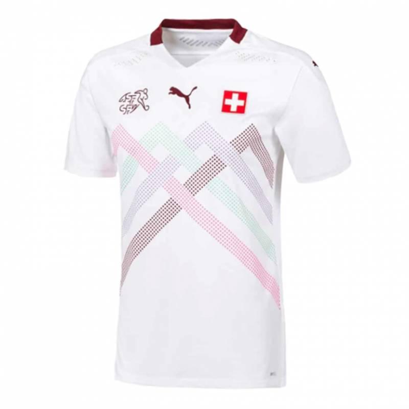 Camiseta Suiza exterior 2020