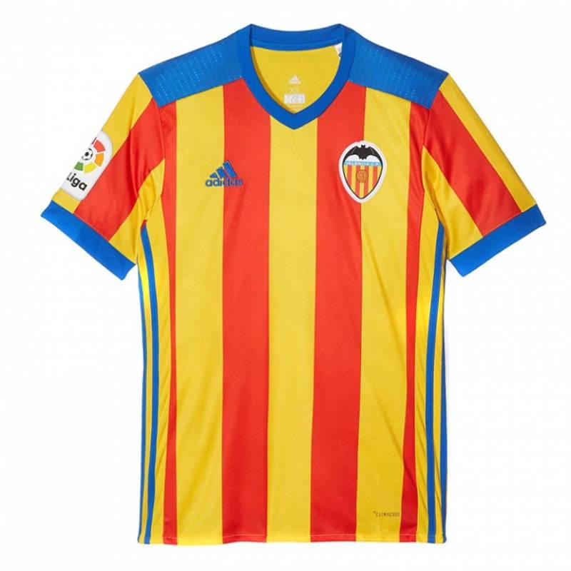 Camiseta Valencia exterior 2017/2018