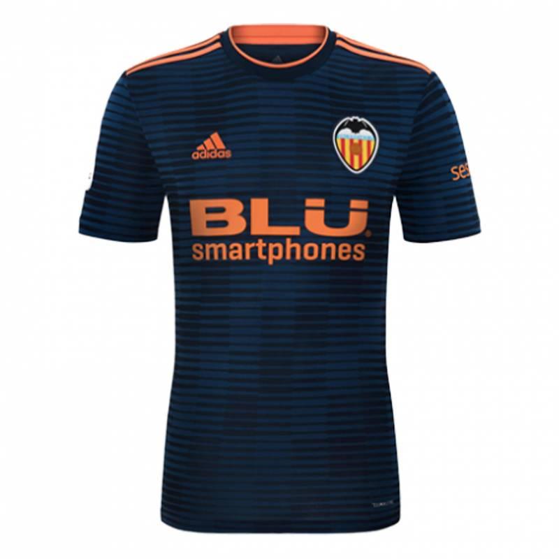 Camiseta Valencia exterior 2018/2019