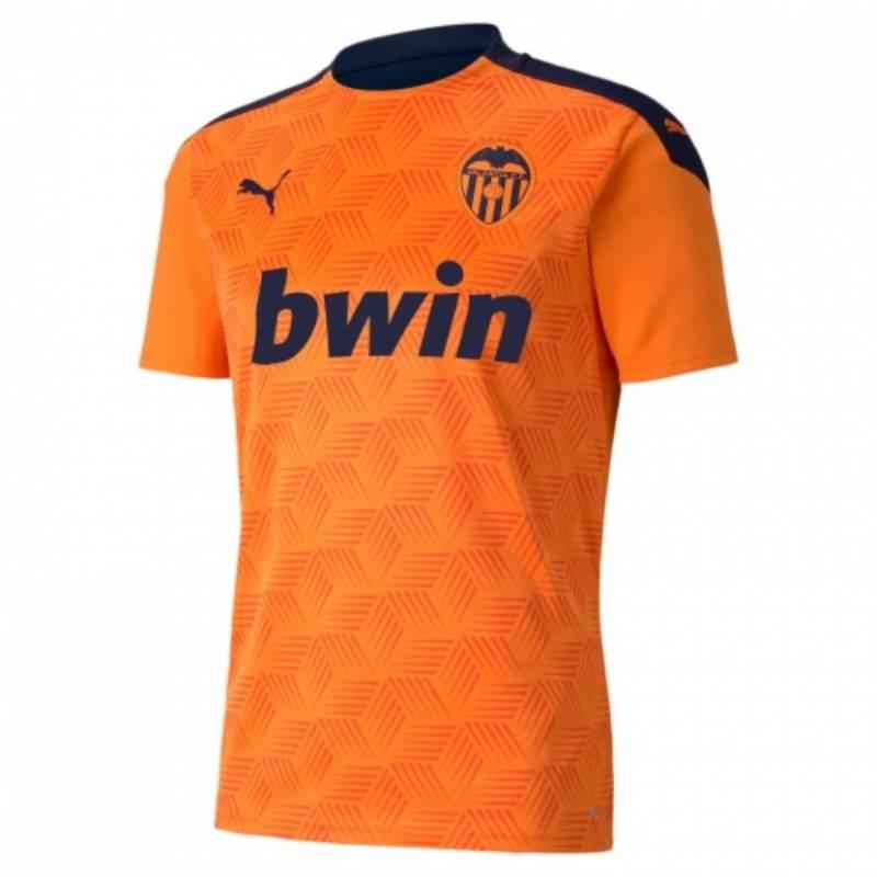Camiseta Valencia exterior 2020/2021