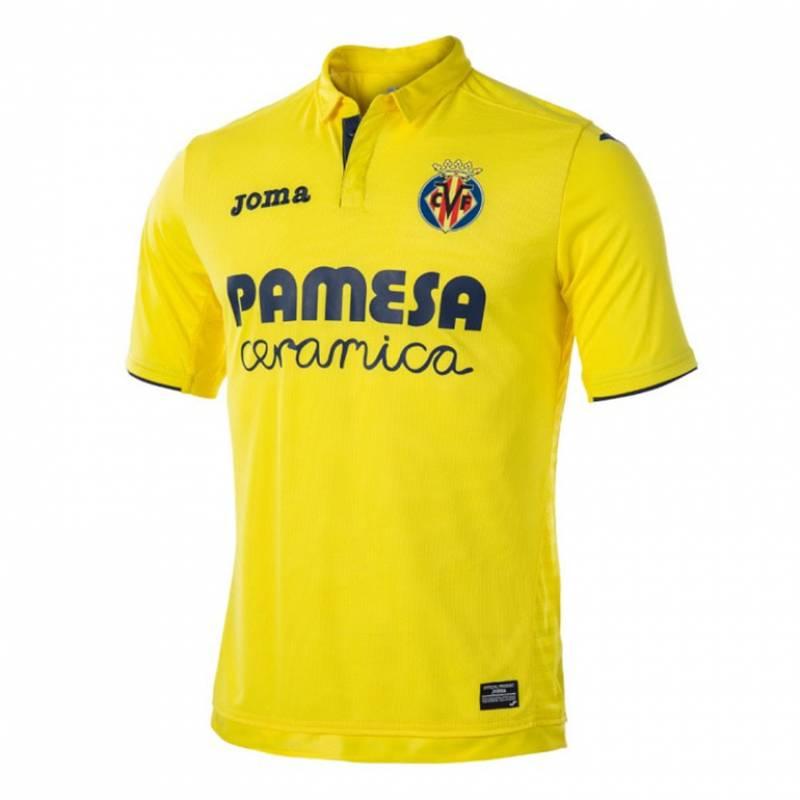 Camiseta Villarreal casa 2017/2018