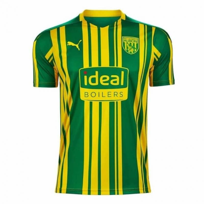 Camiseta West Bromwich exterior 2020/2021