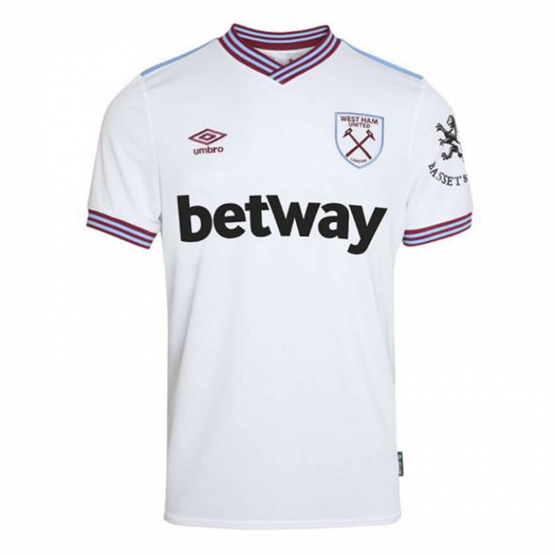 Camiseta West Ham United exterior 2019/2020