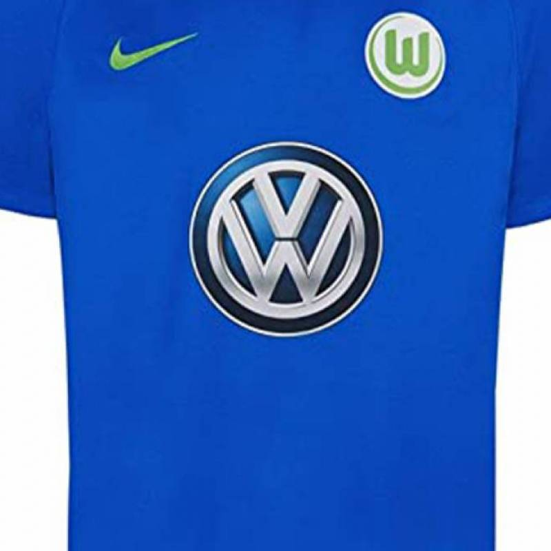 Camiseta Wolfsburg exterior 2017/2018