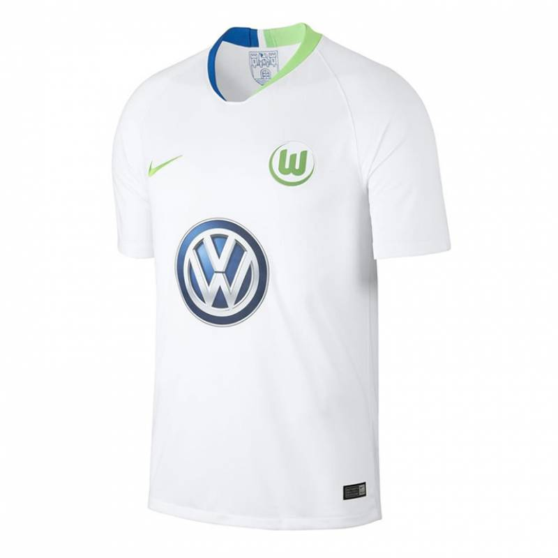Camiseta Wolfsburg exterior 2018/2019