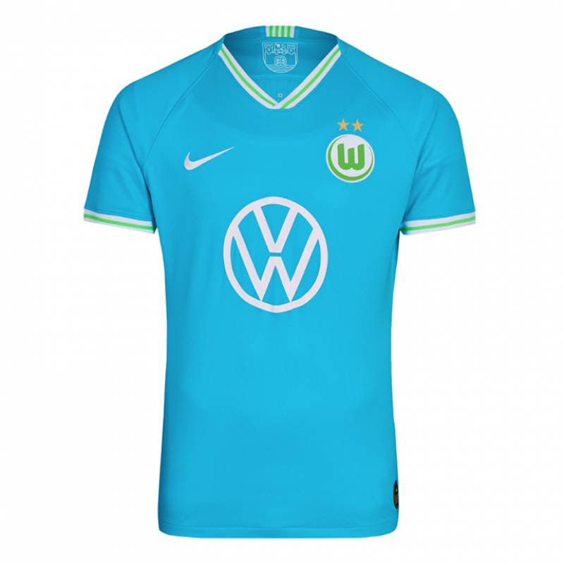Camiseta Wolfsburg exterior 2019/2020
