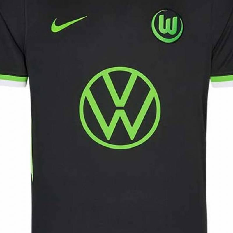 Camiseta Wolfsburg exterior 2020/2021
