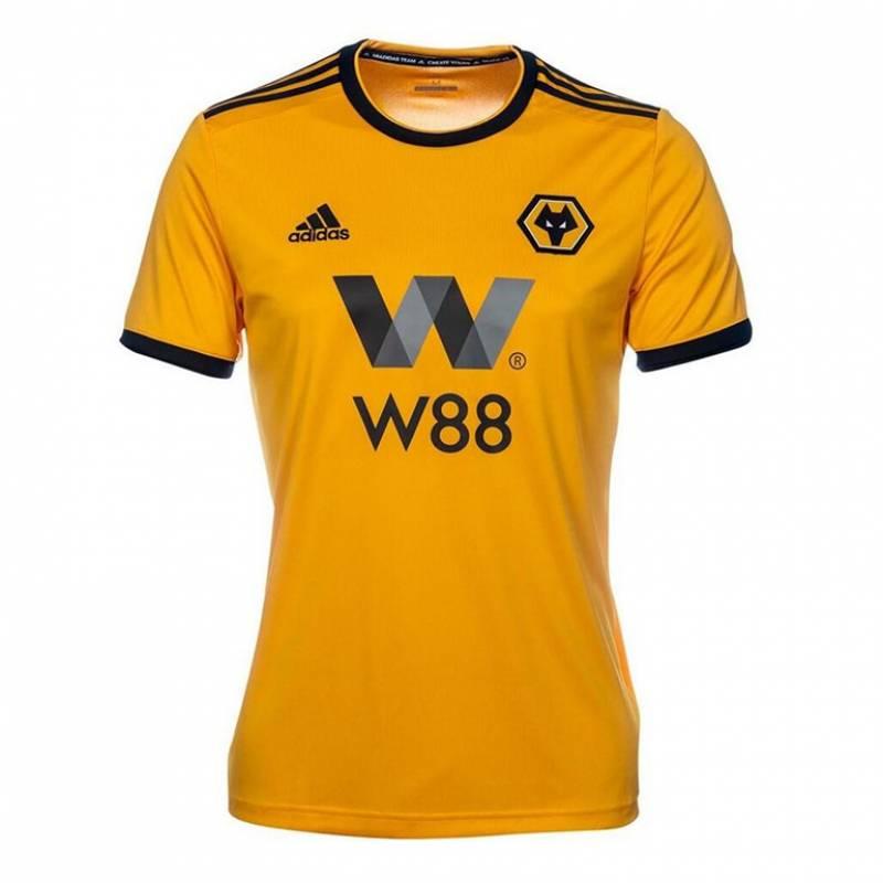 Camiseta Wolverhampton Wanderers casa 2018/2019