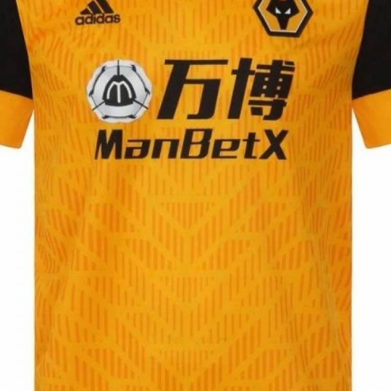 Camiseta Wolverhampton Wanderers casa 2020/2021